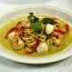 Fried Shrimp with Green Curry