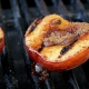 Grilled Peaches with Crisp Topping