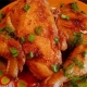 Stewed Chicken Legs with Jalapeno and Lime