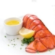 Lobster Tails Steamed with Hoegaarden